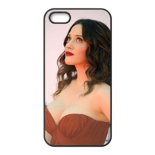 Kat Dahlia 001 coque iPhone 5 5S cellulaire cas coque de téléphone cas téléphone cellulaire noir couvercle EOKXLLNCD25103