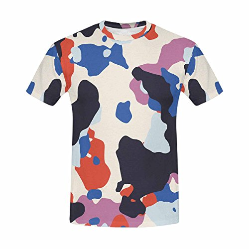Custom Cool Design Camo Style Men's Mesh T-Shirt S ()