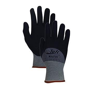 MaxiFlex Ultimate 34 875M Nahtlose Nylon Handschuh, Nitril