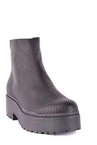 Jeffrey Campbell Women's MCBI163036O Black Leather Ankle Boots vkQrvC