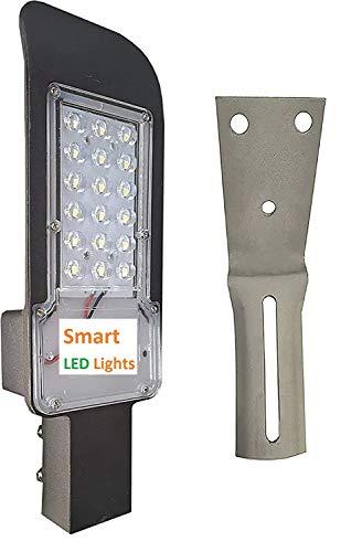 Smart led light b15d 24 Watt Lens Model Outdoor Waterproof Street Light (White)