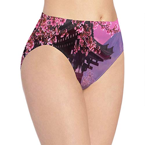 Ouvert Collection - Womens Underwear Enjoy The Collection of Beautiful Wallpapers Cherry Blossoms Marvellous Bikini Brief Hipster Underpants