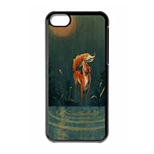 Sly Fox Personalized Case for Iphone 5C, Customized Sly Fox Case