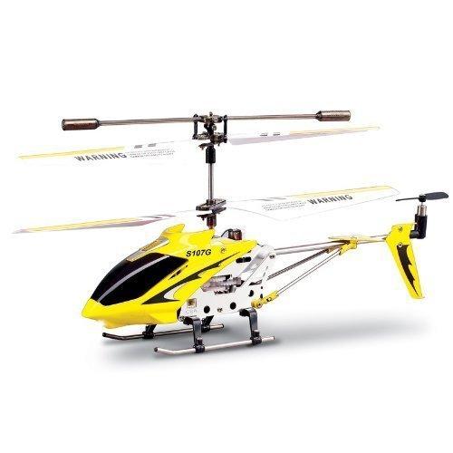 Syma-S107G-Helicptero-de-radiocontrol-3-Canales-Giroscopio-incorporado-Vuelo-nocturno