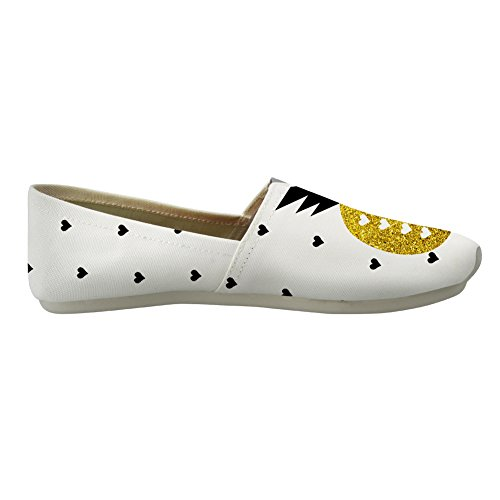 Women Pineapple Youngerbaby Shoes for Classic Fashion Sneaker Slip Canvas Print On Casual fOHaqA