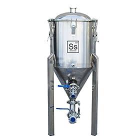 Ss Brewtech Home Brewing Chronical Fermenter; Stainless Steel (7 Gallon)