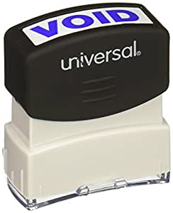 Universal Message Stamp, Void, Pre-Inked One-Color, Blue (10071)