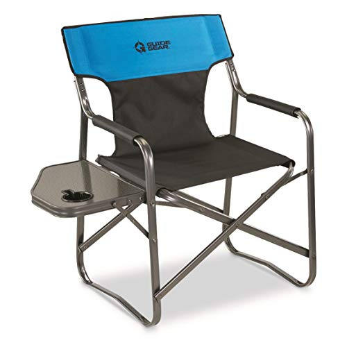 Guide Gear Oversized Directors Chair, 500 lb. Capacity, Blue ()
