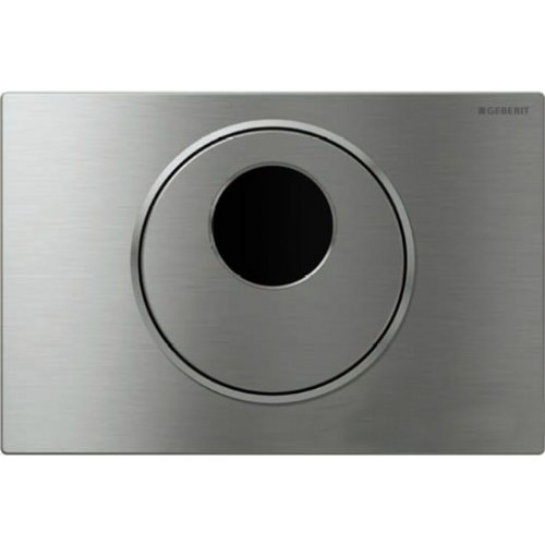 Geberit 115.891.SN.5 Sigma10 DC Hands Free Flush Plate, Stainless Steel by Geberit