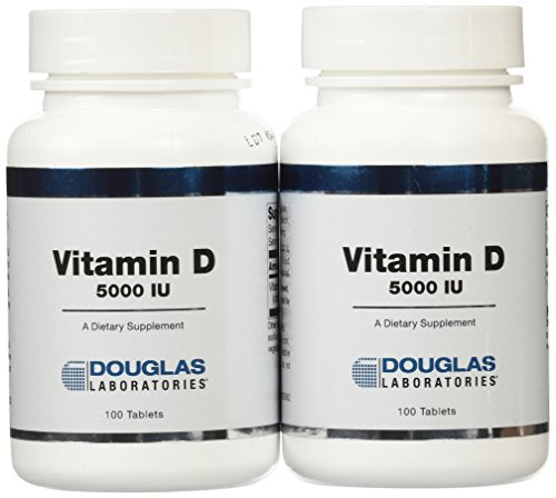 Douglas Labs - Vitamin D 5,000 IU 200 tabs