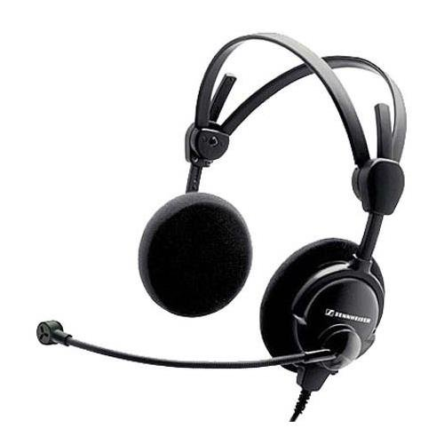 Sennheiser HMD 46-3-6 Lightweight Dual-Ear Open Boomset for Air Traffic Control with ActiveGard (Sennheiser Air Open)