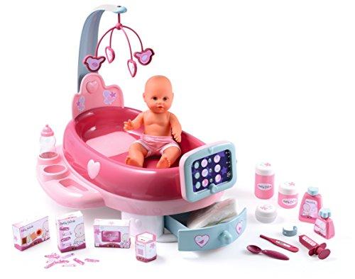 Smoby - 7/024223 - Poupée - Nursery Electronique + Poupon Baby Nurse