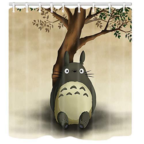 "Totoro Custom Shower Curtain,Waterproof Polyester Fabric Decorative Bathroom Bath Curtains 60"" W x 72"" H"