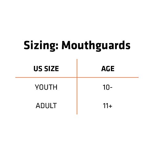 Shock Doctor Ultra Mouth Guard for Braces, Protects Your Dental Braces, Football, Lacrosse, Basketball, Baseball