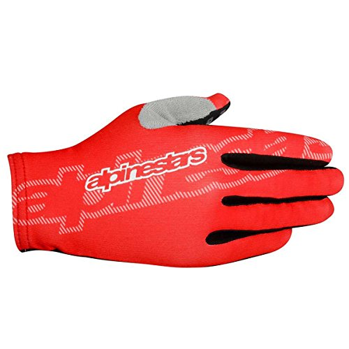 red and white cycling gloves - 8