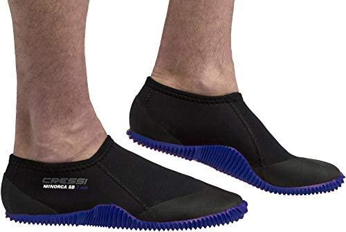 Cressi Minorca Shorty Boots - Escarpines Bajos en Neoprene, Unisex Adulto