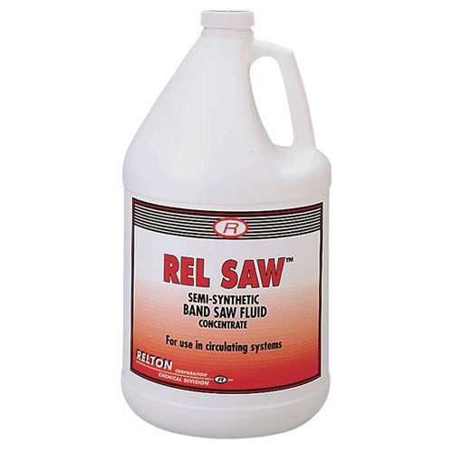 RELTON Rel Saw8482; Band Saw Fluid - Container Size: 1 Gallon Bottle MFR : 01G-RS (Cutting Fluid Band Saw)