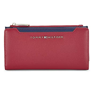 Tommy Hilfiger Women's Wallet (Red) (Numbers 2)