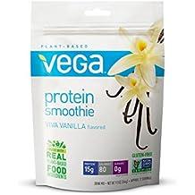 Vega Protein Smoothie, Vanilla, Pouch, 9.3 oz
