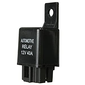 Other Tools - Car Auto Relay 4 Pin Spst Alarm Relay Automotive Van Boat Bike 12v Dc 40a 40 Amp - Relay Auto Automotive Spst 12volt Volt - 12v 40a - 1PCs