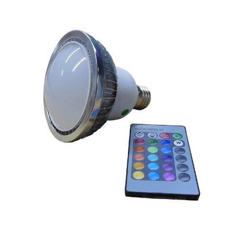 Wiedamark Par 30 6 3W RGB LED Remote Controllable Lamp 160 Degree Beam -