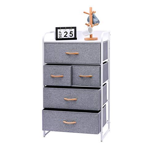 Kamiler 5-Drawer Dresser 4-Tier