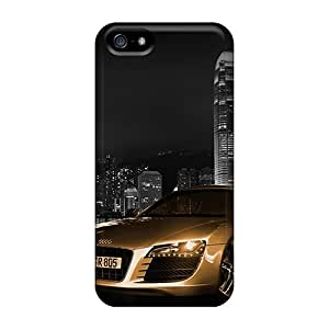 SherriFakhry Iphone 5/5s Anti-Scratch Hard Cell-phone Cases Provide Private Custom Beautiful Audi R8 Pattern [QEf4664wGfz]