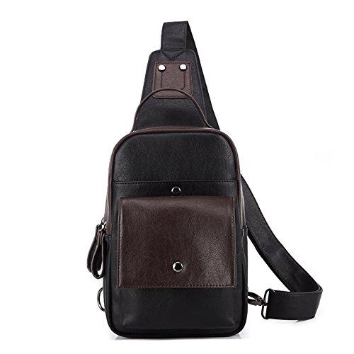 coreana bolso hombro A hombre pecho bolsos Mensajero Bolso deporte del moda de los de mochila A de bolsa de de bolsa de masculina de hombre versión hombres tendencia la qOA0wZA