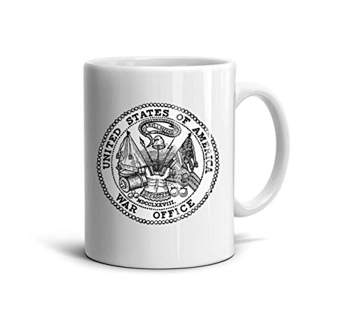 Seal Pennant - HMAG Mugs Seal of The U.S. Department of The Army Personalized Mug Unique Cups