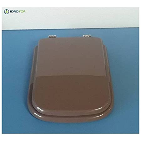 Asse Water Conca.Ideal Standard Toilet Conca Beaver Zip Cromo Sedile Asse