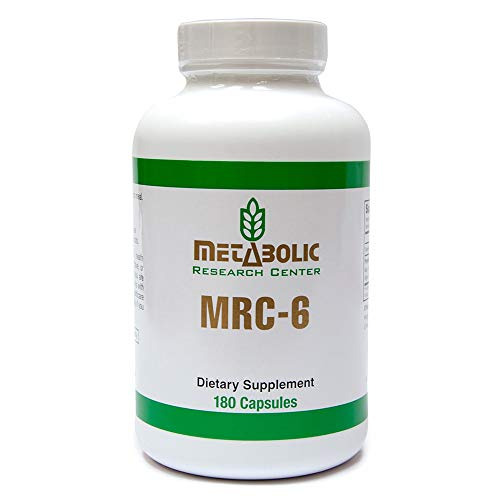 (Metabolic Research Center MRC-6 - Weight Loss Dietary Supplement, 180 Count)