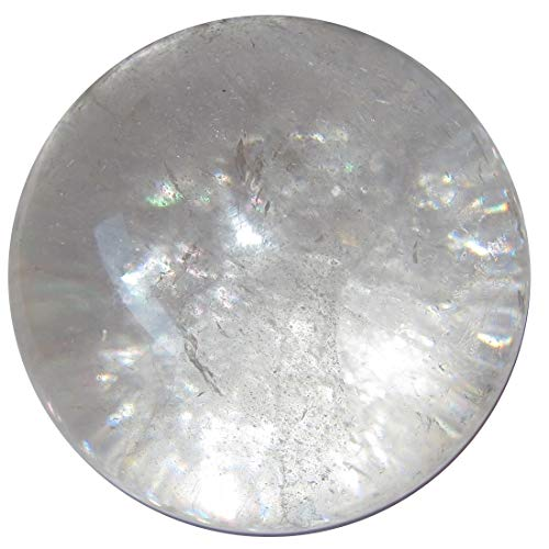 SatinCrystals Quartz Clear Ball 2.8