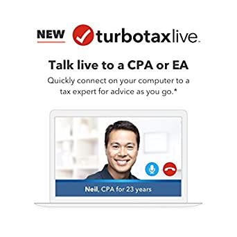 Amazon com: TurboTax Live –2017 Online Tax Preparation with