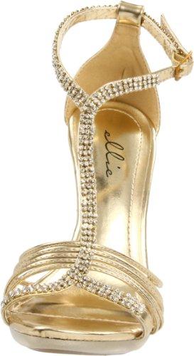 Ellie Skor Kvinna 431-majestic Sandal Guld