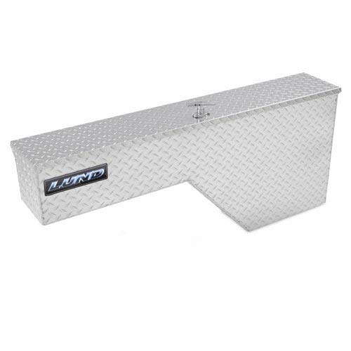 Lund 8225 48-Inch Aluminum Fender Well Full Size Truck Tool Box, Diamond Plated, Silver