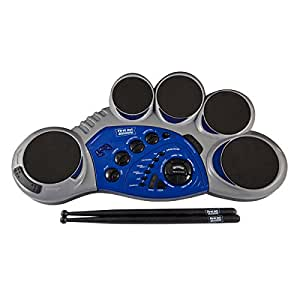 first act discovery fd213 5 electronic drum pad light silver musical instruments. Black Bedroom Furniture Sets. Home Design Ideas