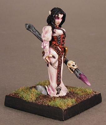 Reaper Miniatures 2810 Hyrekia, Half-Elf Sorceress