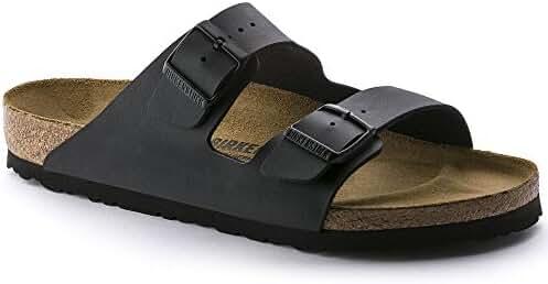 Birkenstock Arizona BLACK Birko-Flor Sandal - EU Size 37 / Women's US Size 6-6.5