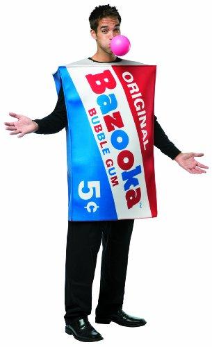 Rasta Imposta Men's Topps Bazooka Gum Piece, Red/White/Blue, One Size ()