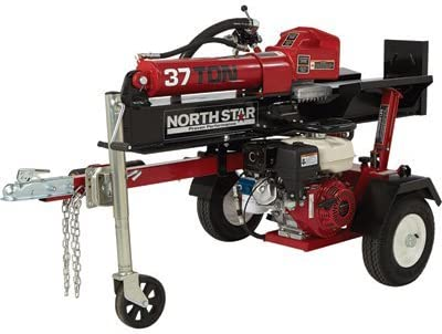 NorthStar Horizontal Vertical Log Splitter – 37-Ton, 270cc Honda GX270 Engine