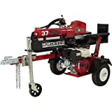 NorthStar Horizontal/Vertical Log Splitter - 37-Ton,...