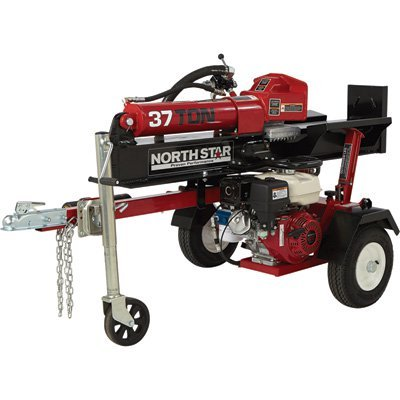 NorthStar Horizontal/Vertical Log Splitter - 37-Ton, 270cc Honda GX270 - Horizontal Northstar Splitter Log