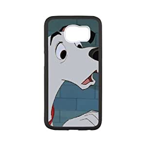 Samsung Galaxy S6 Phone Case Cover White Disney 101 Dalmatians Character Pongo EUA15999225 Personalized Clear Phone Case