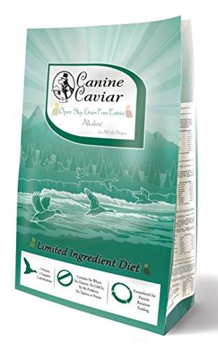 Canine Caviar Dry All Holistic Grain-Free Duck/Pea, 4.4 lb (Food Caviar Canine Pet)