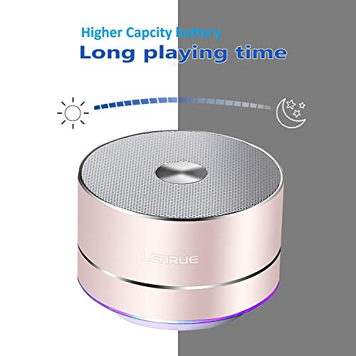 LENRUE Portable Bluetooth Speaker A2 for iPhone iPad Android Samsung