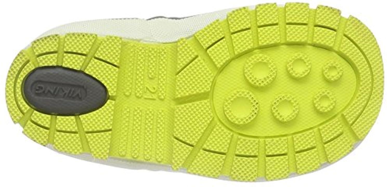 Viking Unisex Kids' Solan Neo Ankle Boots, Grau (Grey/Yellow 313), 4.5 Child UK