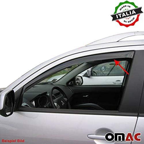 Omac Kompatibel Mit Renault Clio Iv Grandtour Windabweiser Regenabweiser 2 Tlg Satz Vorne Ab 2012 Auto