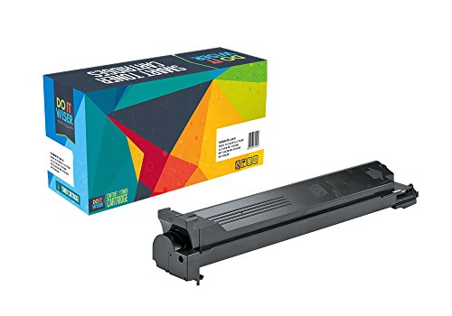 Do it Wiser Compatible Toner Cartridge Replacement for Konica Minolta Bizhub C451 Black (Konica Bizhub C451)