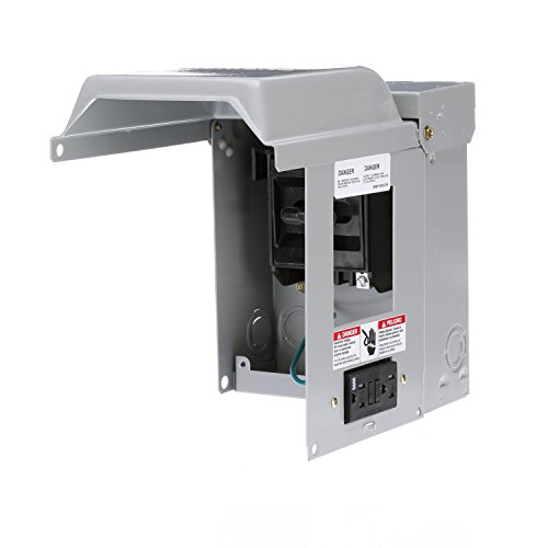 (Siemens WF2060GFCI 60 Amp Fusible AC Disconnect with GFI Receptacle)
