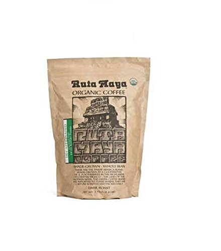 Ruta Maya® Organic Decaffeinated Coffee Dark Roast Whole Bean 2 Count - 2.2 Lbs. Each